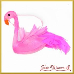 Flamingi - zestaw zawieszek ozdobnych 8cm/2szt.