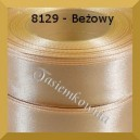 Tasiemka satynowa 6mm kolor 8129 beżowy