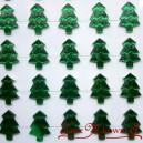CHOINKI SAMOPRZYLEPNE zielone 2cm/35szt.
