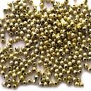 Perełki 4 mm złote
