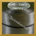 Tasiemka satynowa 6mm kolor 8140 szary ciemny