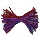 Druciki kreatywne  wyciory metalizowane mix kolorów 50szt