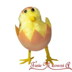 Kurczaki w skorupkach DUŻE 2 szt 8 cm
