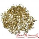 Śrubki metalowe ZŁOTE 8 mm 100g wkrętki