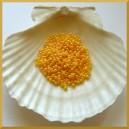 Perełki 3mm żółte opalizujące