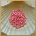 Perełki 3mm różowe