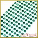 Perełki samoprzylepne turkusowe mealiczne 8 mm