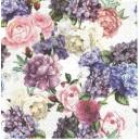 Serwetka do Decoupage kwiaty jasne 1 szt