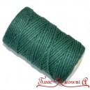 Sznurek bawełniany zielony 100 g