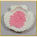 Perełki 6mm różowe DP