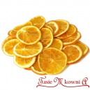 Suszone pomarańcze w plastrach 50-60g około 5cm