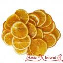 Suszone pomarańcze w plastrach około 120G 5cm