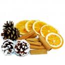 Susz pachnący mix: szyszki, pomarańcza, cynamon 50g