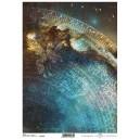 Papier ryżowy A4 R1786 astronomiczne smoki