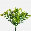 BUKSZPAN - zielona gałązka ozdobna 18cm/6szt.