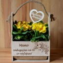 Nosidło doniczka na Dzień Matki, Dzień Mamy + Topper gratis