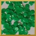 Cekiny kółka łamane 6mm - 12g zielone pastelowe matowe