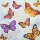 Serwetka do decoupage motyle  wycinanki