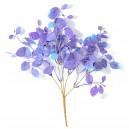 Dolarowiec, liście dekoracyjne, niebiesko-fioletowe - 5szt/38cm