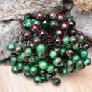 Jagódki dwukolorowe podwójna gałązka 40 owoców