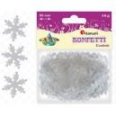 Konfetti płatki śniegu śnieżynki 2,5cm/14g