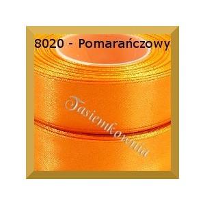 Tasiemka satynowa 38mm kolor 8020 pomarańczowy