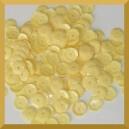 Cekiny kółka łamane 8mm 17g jasno żółte - b7