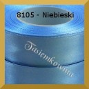 Tasiemka satynowa 38mm kolor 8105 niebieski