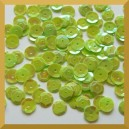 Cekiny kółka łamane 8mm 17g zielone opalizujące - f32