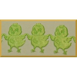 Kurczaczki zielone