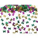 Kolorowe cekiny motylki