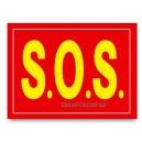 """Naklejki na buty """"S.O.S."""""""