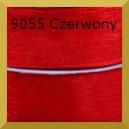 Tasiemka szyfonowa  6mm 32mb czerwona