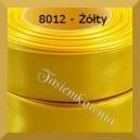 Tasiemka satynowa 25mm kolor 8012 żółty/ 6szt.