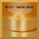 Tasiemka satynowa 25mm kolor 8015 jasne złoto/ 6szt.