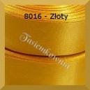 Tasiemka satynowa 25mm kolor 8016 złoty/ 6szt.