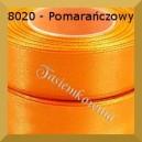 Tasiemka satynowa 25mm kolor 8020 pomarańczowy/ 6szt.