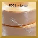 Tasiemka satynowa 25mm kolor 8021 latte/ 6szt.