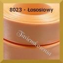 Tasiemka satynowa 25mm kolor 8023 łososiowy/ 6szt.