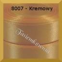 Tasiemka satynowa 6mm kolor 8007 kremowy/ 20szt.