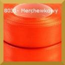 Tasiemka satynowa 25mm kolor 8031 marchewkowy/ 6szt.