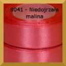 Tasiemka satynowa 25mm kolor 8041 niedojrzała malina/ 6szt.