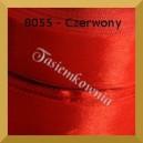Tasiemka satynowa 25mm kolor 8055 czerwony/ 6szt.