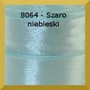Tasiemka satynowa 25mm kolor 8064 szaroniebieski/ 6szt.