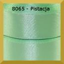 Tasiemka satynowa 25mm kolor 8065 pistacja/ 6szt.