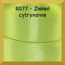 Tasiemka satynowa 25mm kolor 8077 zieleń cytrynowa/ 6szt.