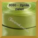 Tasiemka satynowa 25mm kolor 8080 zgniła zieleń/ 6szt.