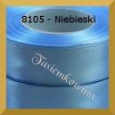 Tasiemka satynowa 25mm kolor 8105 niebieski/ 6szt.