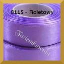 Tasiemka satynowa 25mm kolor 8115 fioletowy/ 6szt.