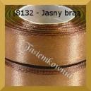 Tasiemka satynowa 25mm kolor 8132 jasny brąz 6szt.